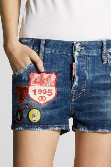 DSQUARED2 Shorts Woman S75MU0254S39781100 b