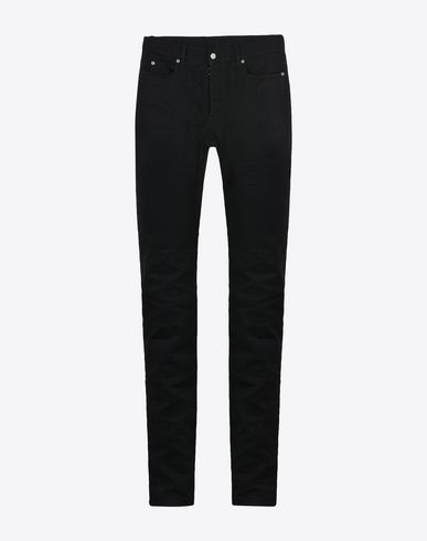 MAISON MARGIELA Jeans Man Black slim fit 5-pocket jeans f