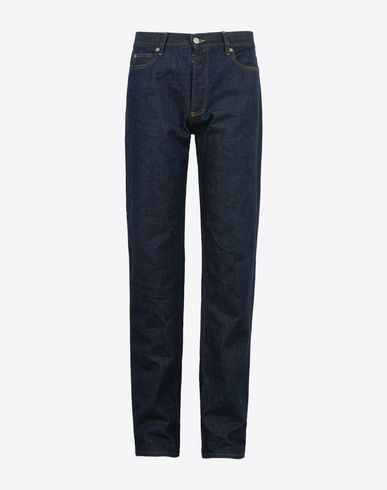 MAISON MARGIELA Jeans Man Dark wash 5-pocket jeans f