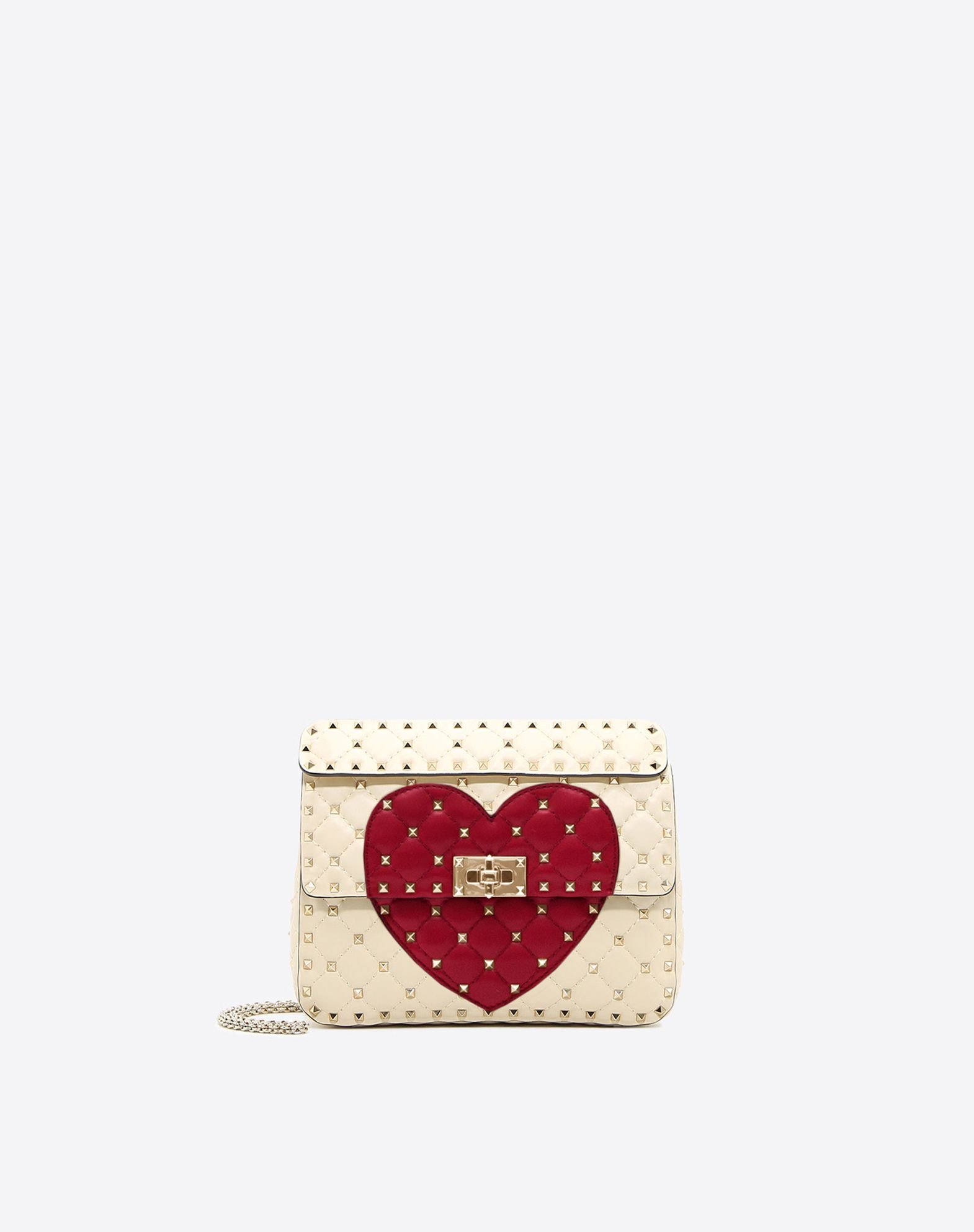 VALENTINO Rockstud Spike.It Medium Chain Bag Shoulder bag D f