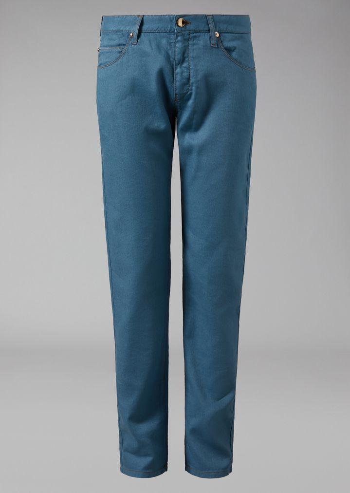five pocket trousers - Blue Armani Jeans Z8OdQRTIbB