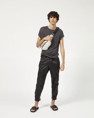 HARRIS waxed cotton trousers
