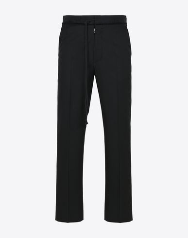 MAISON MARGIELA Casual pants U Wool cotton trousers f