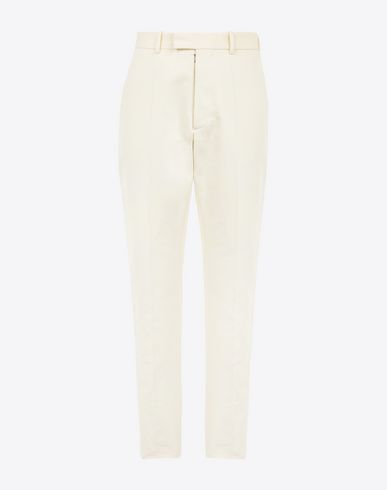 MAISON MARGIELA Casual pants U Cotton slim-fit trousers f