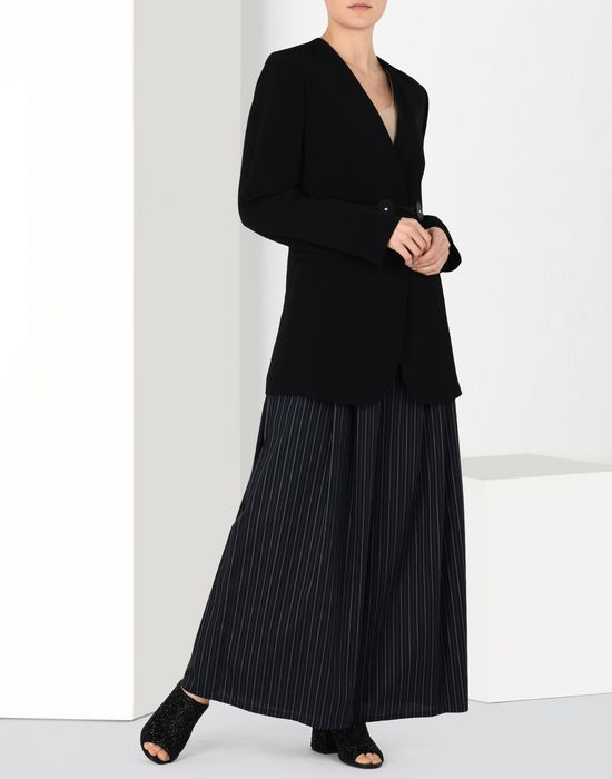 MM6 MAISON MARGIELA Oversized cotton stripe trousers Trousers [*** pickupInStoreShipping_info ***] r