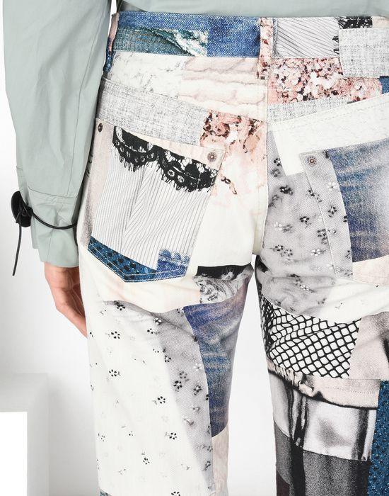 MM6 MAISON MARGIELA Patchwork print jeans Jeans [*** pickupInStoreShipping_info ***] a