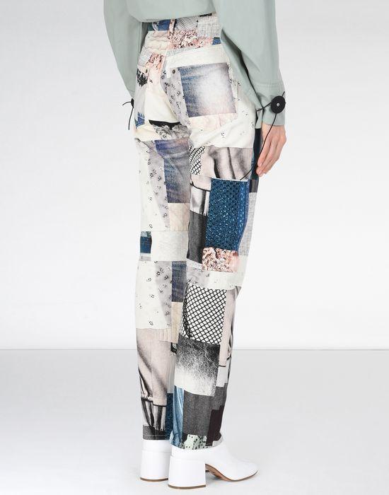 MM6 MAISON MARGIELA Patchwork print jeans Jeans [*** pickupInStoreShipping_info ***] d