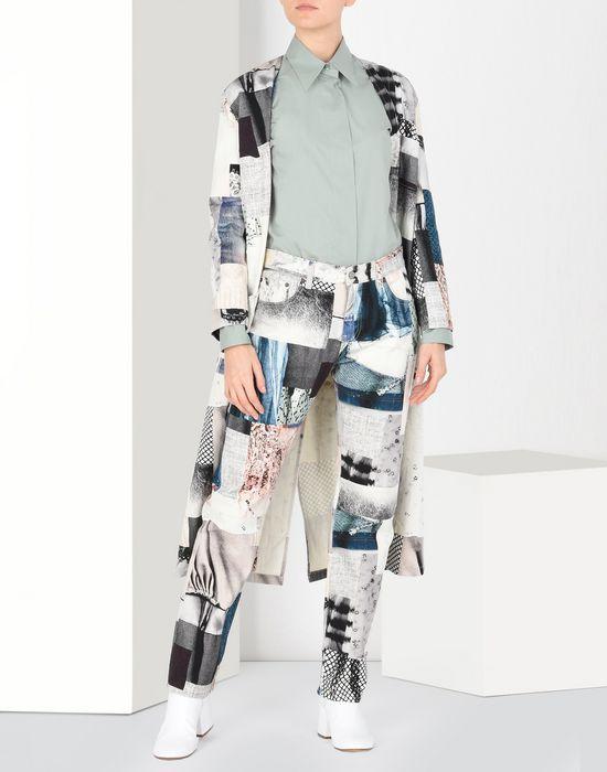 MM6 MAISON MARGIELA Patchwork print jeans Jeans [*** pickupInStoreShipping_info ***] r