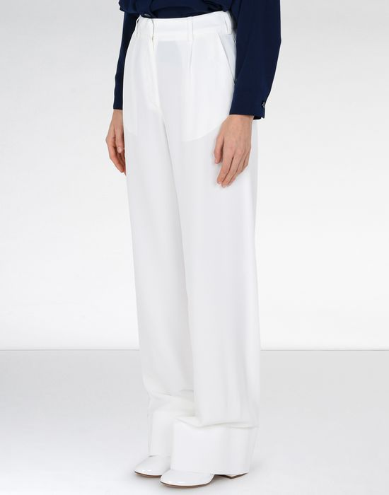 MM6 MAISON MARGIELA Flare suiting trousers Trousers Woman d