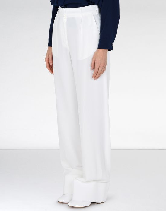 MM6 MAISON MARGIELA Flare suiting trousers Trousers Woman f