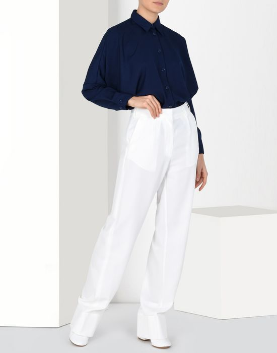 MM6 MAISON MARGIELA Flare suiting trousers Trousers Woman r