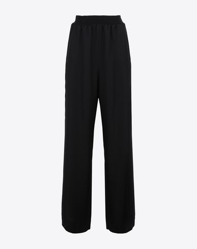 MAISON MARGIELA Trousers Woman High-waisted virgin wool trousers f