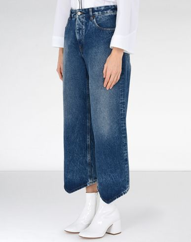 MM6 MAISON MARGIELA Jeans Woman Diamond-cut jeans f