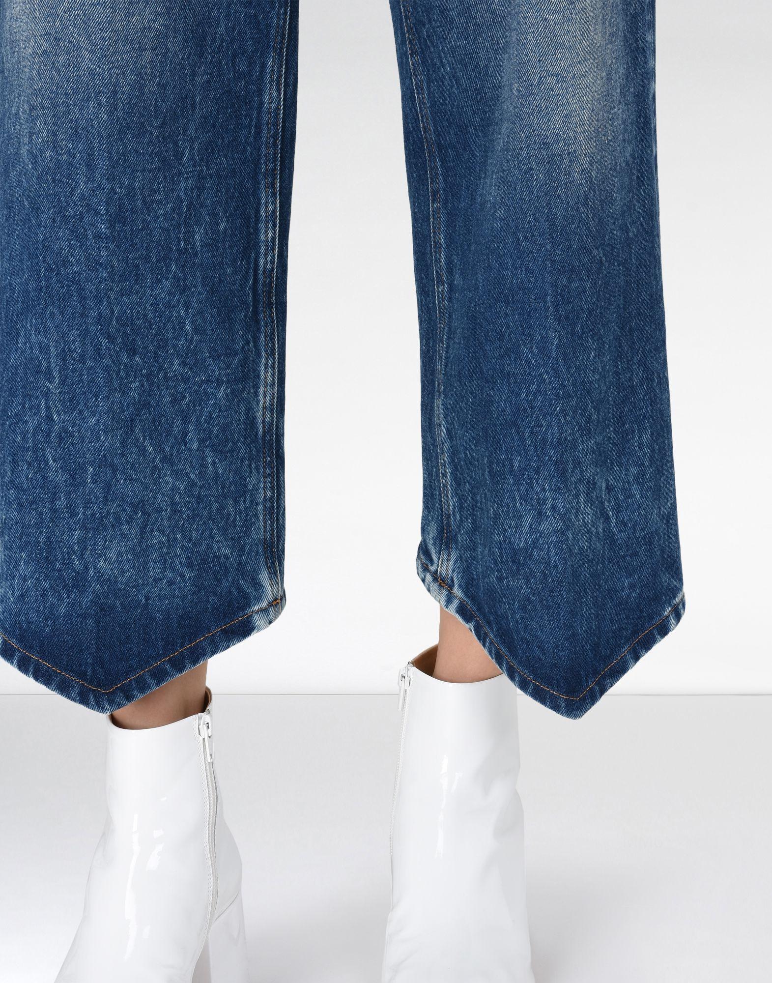 MM6 MAISON MARGIELA Diamond-cut jeans Jeans Woman a