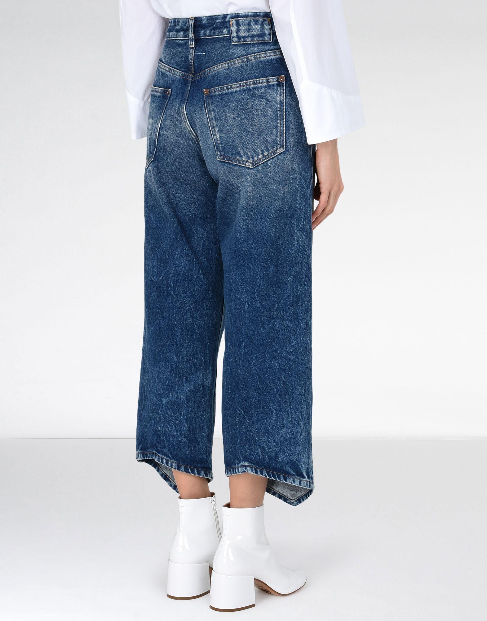 MM6 MAISON MARGIELA Diamond-cut jeans Jeans Woman d