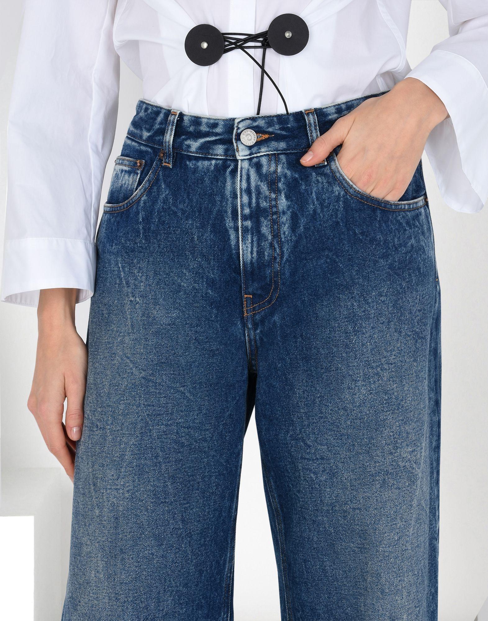 MM6 MAISON MARGIELA Diamond-cut jeans Jeans Woman e