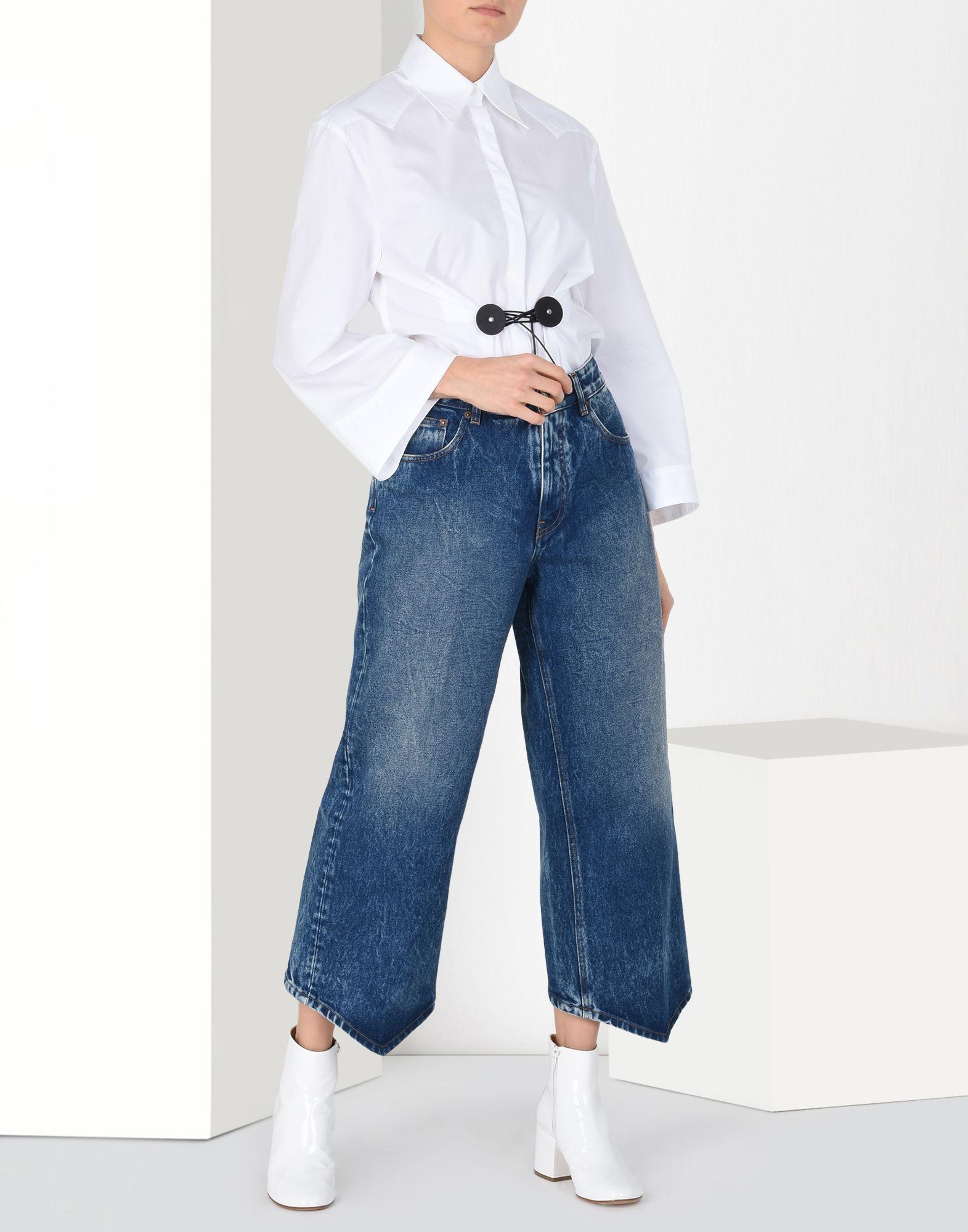 MM6 MAISON MARGIELA Diamond-cut jeans Jeans Woman r