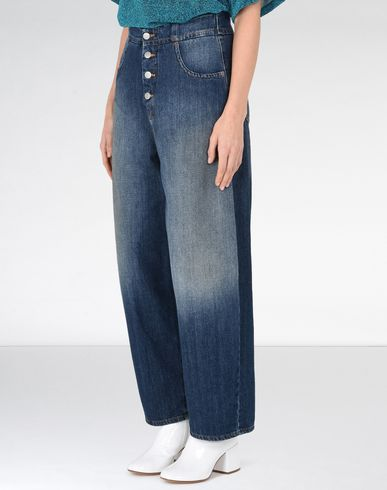 MM6 MAISON MARGIELA Jeans Woman Four-button jeans f