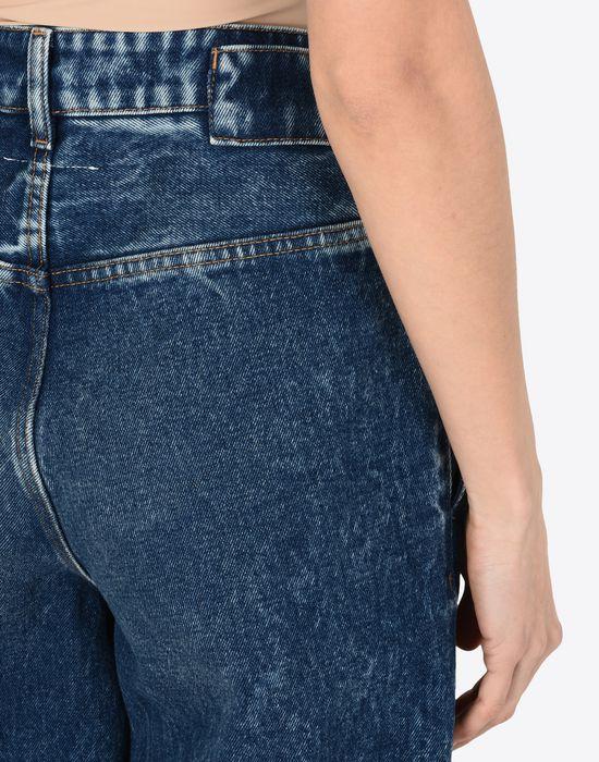 MM6 MAISON MARGIELA Denim track pants Jeans Woman a