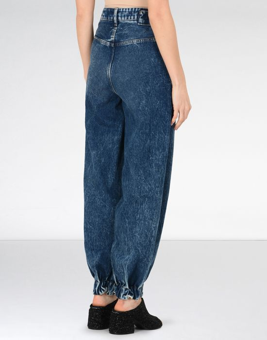 MM6 MAISON MARGIELA Denim track pants Jeans Woman d