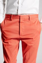 DSQUARED2 Hockney Cotton Pants Trousers Man