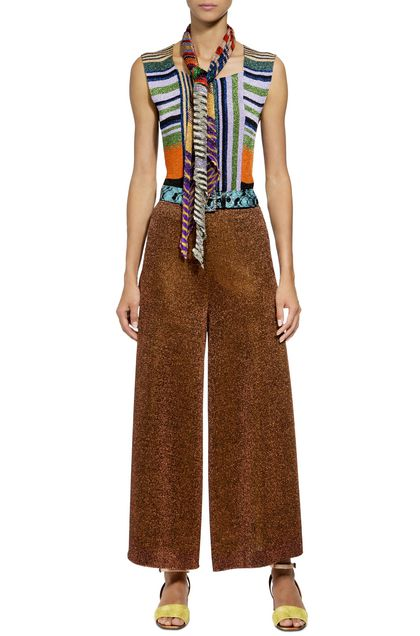 MISSONI Trouser Brown Woman - Back