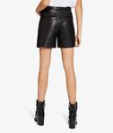 KARL LAGERFELD Leather & Suede Shorts 8_d