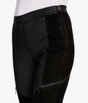 KARL LAGERFELD Leather & Suede Legging 8_r