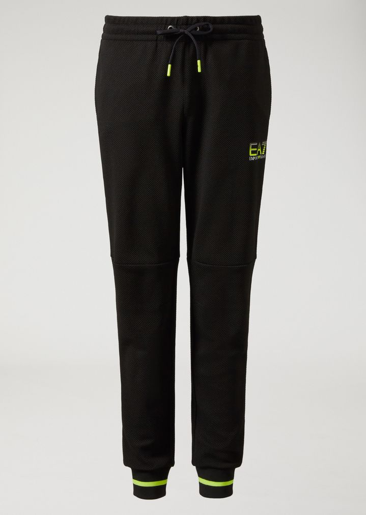 ... EMPORIO ARMANI TROUSERS IN MESH TECHNICAL FABRIC Pants Man r ...
