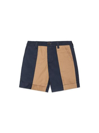 Marni SHORT PANT IN STRIPED POPELINE Man