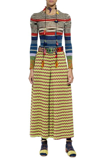 MISSONI Trouser Acid green Woman - Back