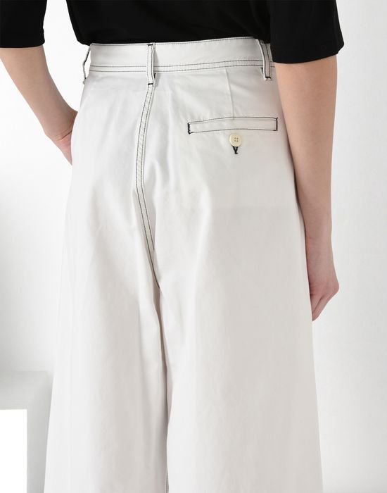 MM6 MAISON MARGIELA Flared cotton trousers Casual pants [*** pickupInStoreShipping_info ***] a