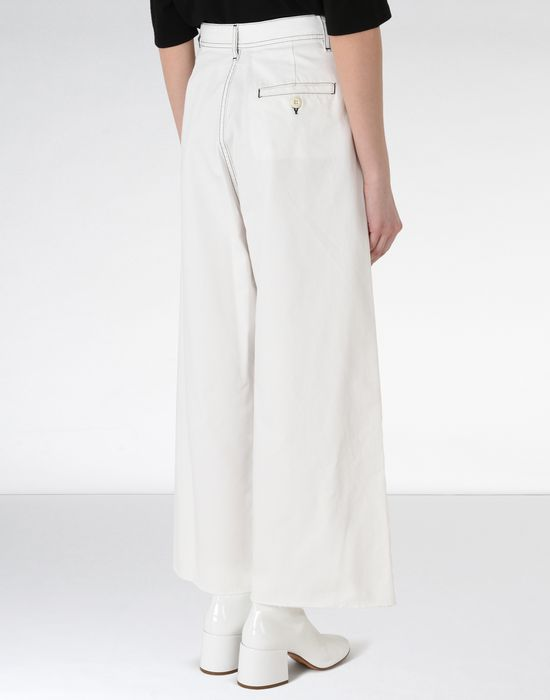 MM6 MAISON MARGIELA Flared cotton trousers Casual pants [*** pickupInStoreShipping_info ***] d