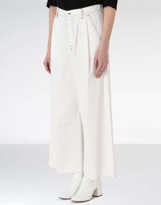 MM6 MAISON MARGIELA Flared cotton trousers Casual pants [*** pickupInStoreShipping_info ***] f