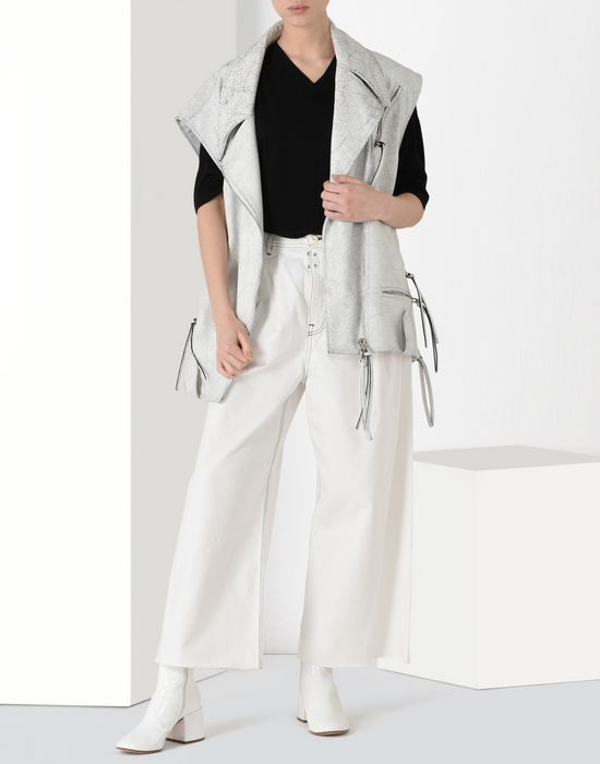 MM6 MAISON MARGIELA Flared cotton trousers Casual pants [*** pickupInStoreShipping_info ***] r