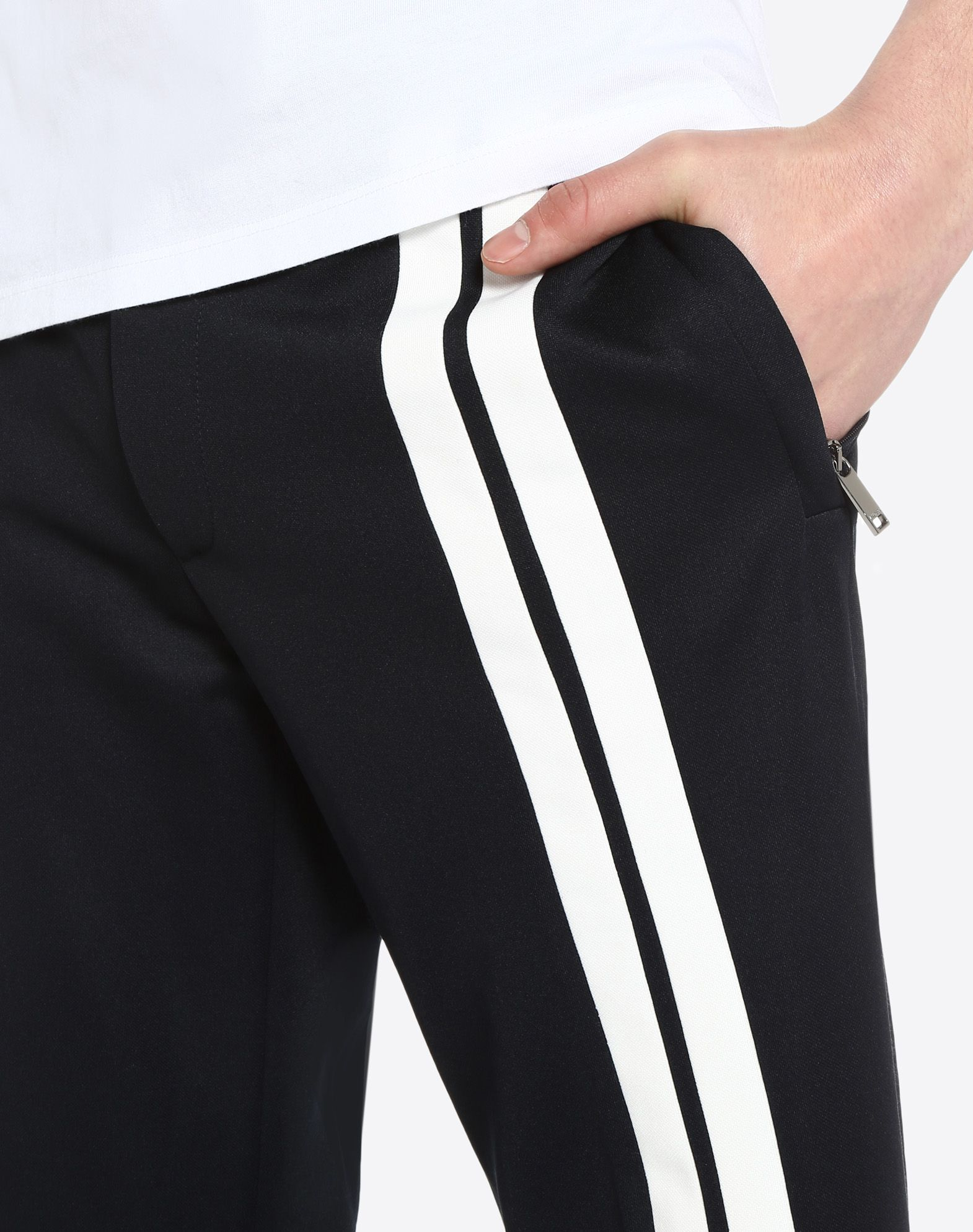 VALENTINO UOMO Trousers with contrasting bands Trousers U a