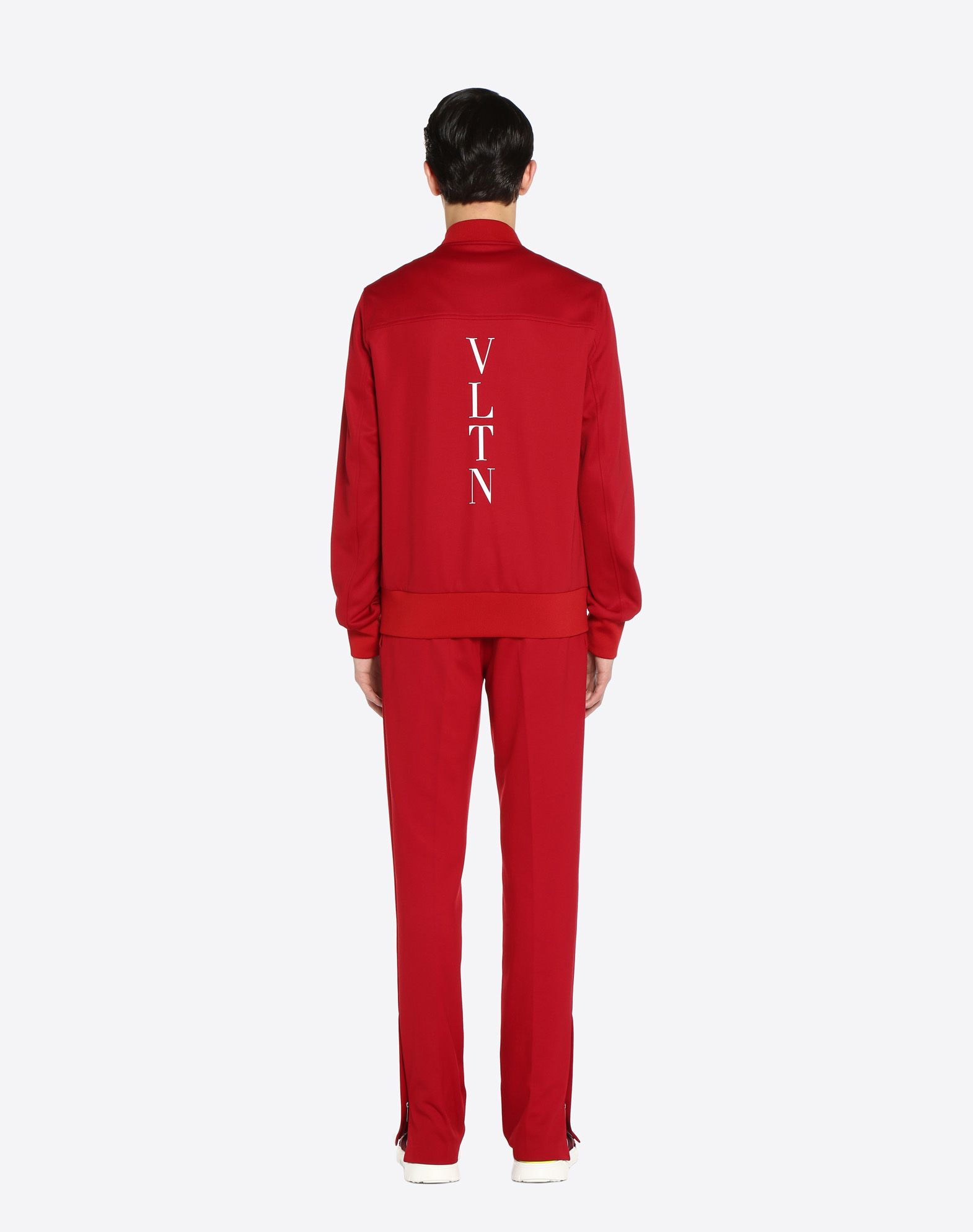 VALENTINO UOMO Trousers with contrasting bands Trousers U e