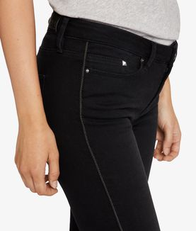 KARL LAGERFELD SKINNY ZIP DETAIL DENIM