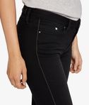 Skinny Zip Detail Denim