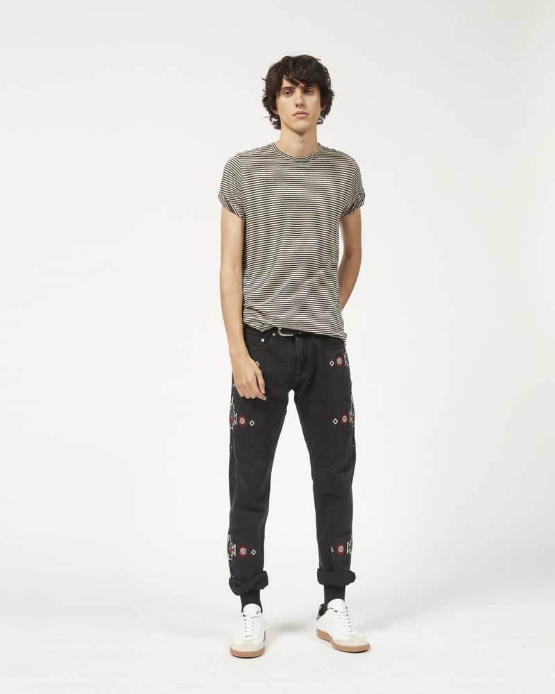 JASPER embroidered jeans ISABEL MARANT