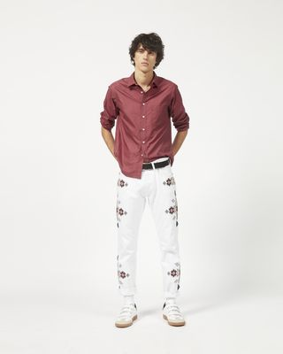 JASPER embroidered jeans