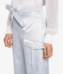 Drawstring Metallic Pant