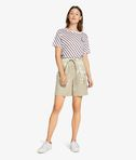 Drawstring Metallic Short
