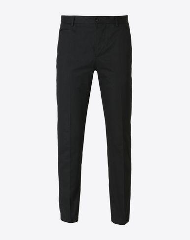 MAISON MARGIELA Casual pants U Cotton gabardine trousers f