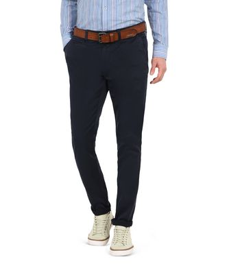 NAPAPIJRI MANA MAN CHINO TROUSERS,DARK BLUE