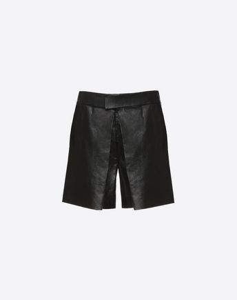 VALENTINO Shorts D Leather shorts f