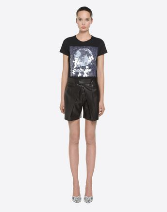 VALENTINO Shorts D Leather shorts r