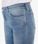 KARL LAGERFELD Distressed Blue Denim 8_e