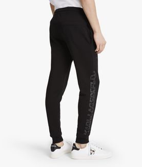 KARL LAGERFELD LOGO SWEATPANTS