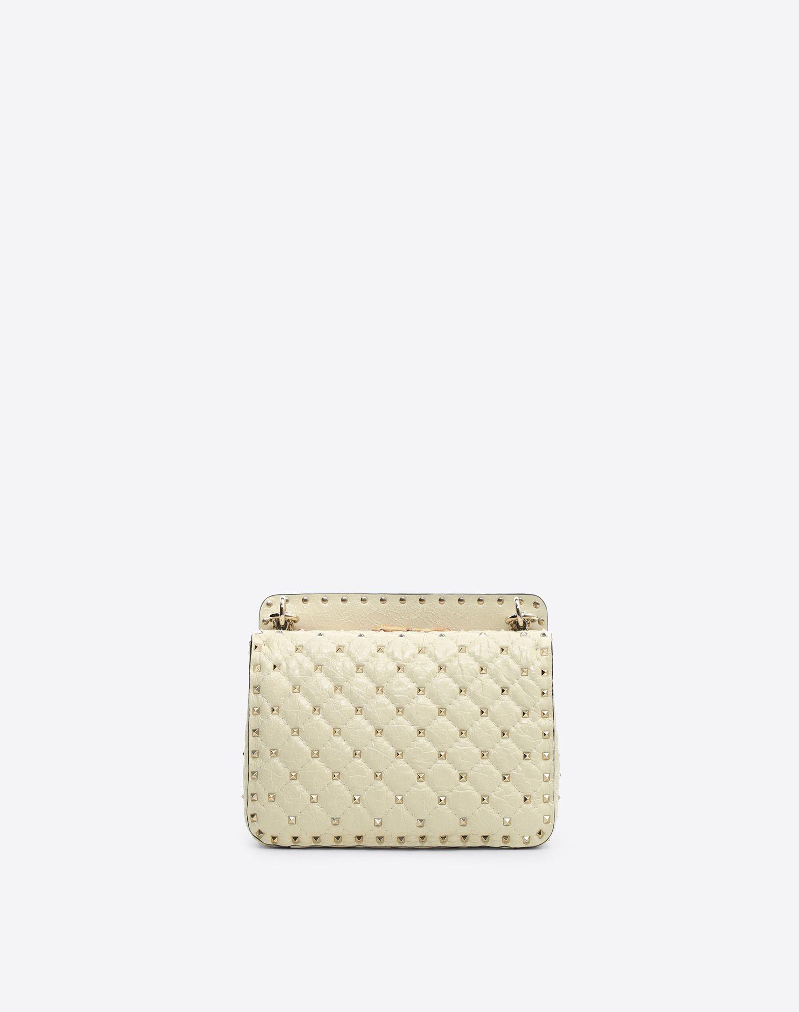 VALENTINO Rockstud Spike.It Medium Chain Bag Shoulder bag D d
